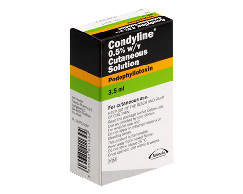 Condyline Solution 0.5%