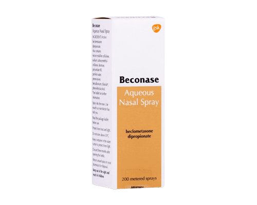 Beconase aqueous nasal spray