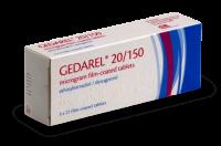 Gedarel box contraceptive pill